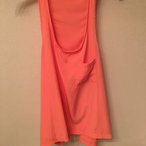 🛑bogo Orange top Arden B size medium